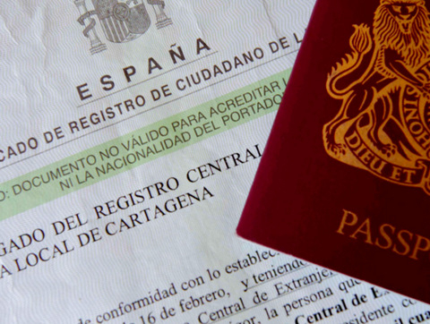 New Residency requirements for EU citizens living in Spain
