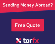 TORFX FREE quote for Currency Exchange or Money Transfers
