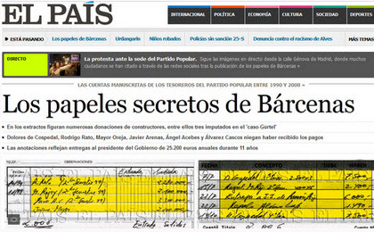 Police conclude that Bárcenas is the author of the Bárcenas papers
