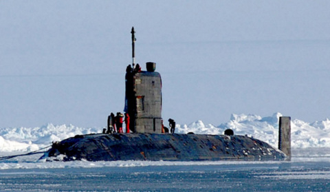 British nuclear submarine in Gibraltar provokes protests