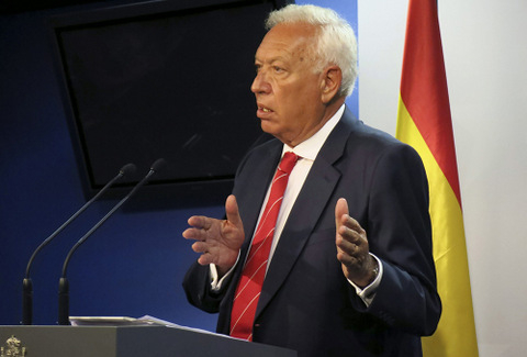 Spanish Foreign Minister writes to William Hague ref Gibraltar