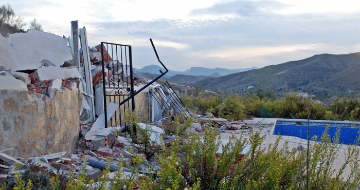 Two more British-owned houses demolished in Almería