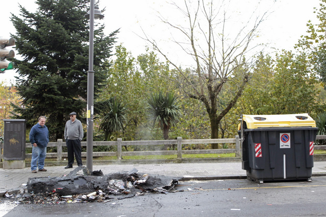 Bins fired in the Basque Country supporting ETA