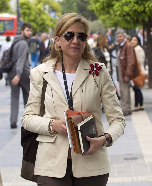 Princess Cristina will not appeal court summons