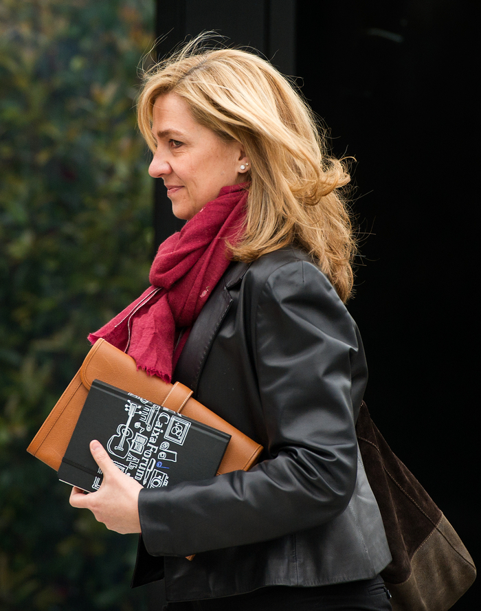 Princess Cristina preparing for her court hearing on Saturday