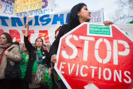Court backs eviction protestors in case against Spanish Vice president
