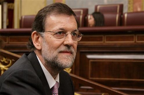 President Rajoy holds behind doors meeting with Basque president