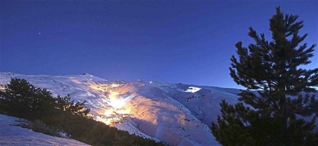 Night skiing extended to Thursdays in the Sierra Nevada