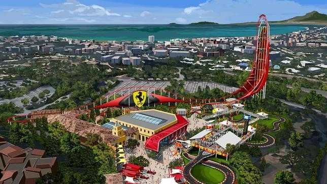 Ferrari Land park to be built alongside Port Aventura in Catalunya