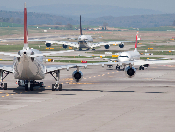 More air passengers flying to Spain