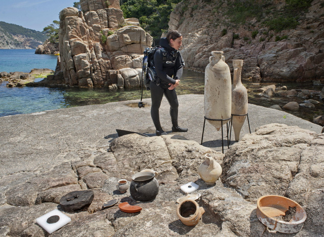 Fun initiative to promote Costa Brava archaeology and snorkelling