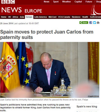 Former King Juan Carlos is granted legal immunity, but from what?