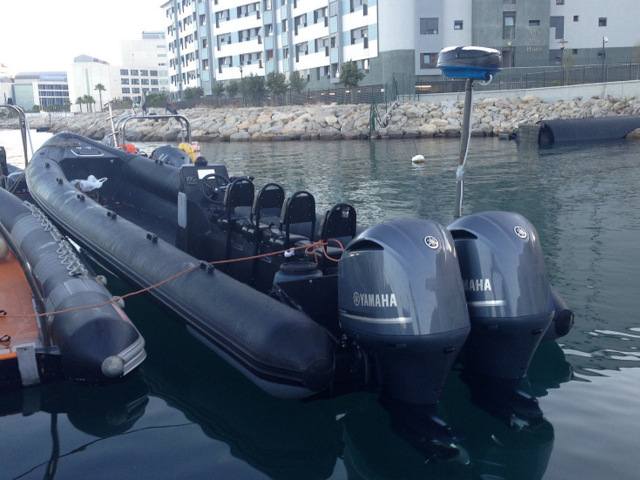 Three detained after high-speed chase in the Bay of Gibraltar