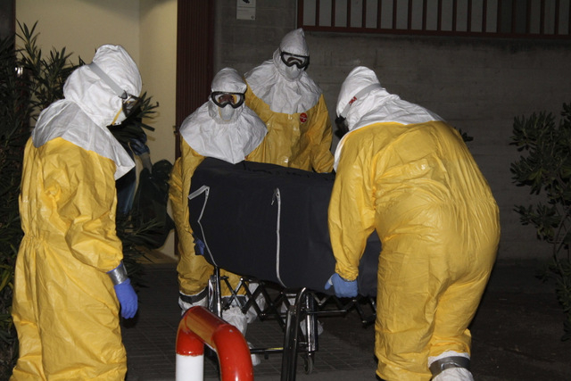 Second Spanish ebola victim dies in Madrid