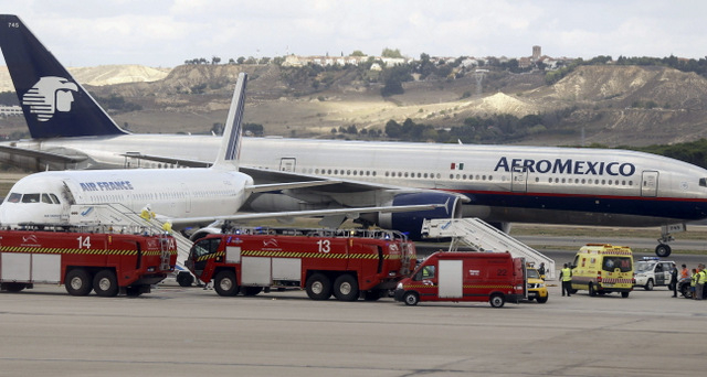 Ebola scare at Madrid airport on Air France flight