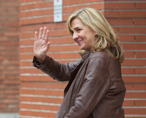 Princess Cristina of Spain could renounce her right to the throne