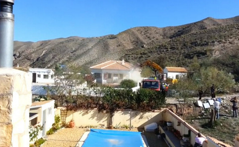 Almeria subject of international condemnations as more British homes are demolished