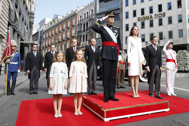 Spanish royal family clamp down on freebies