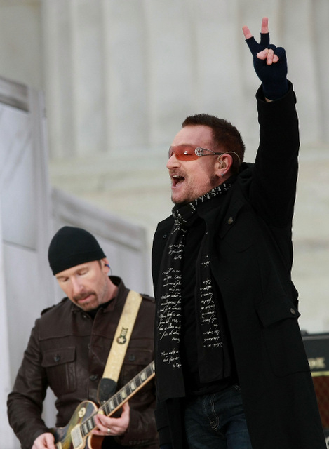 U2 to play Barcelona in October 2015
