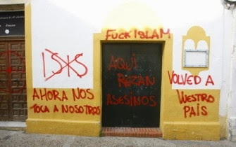 Anti-Islamic graffiti in Cadíz is fourth attack in just a few days