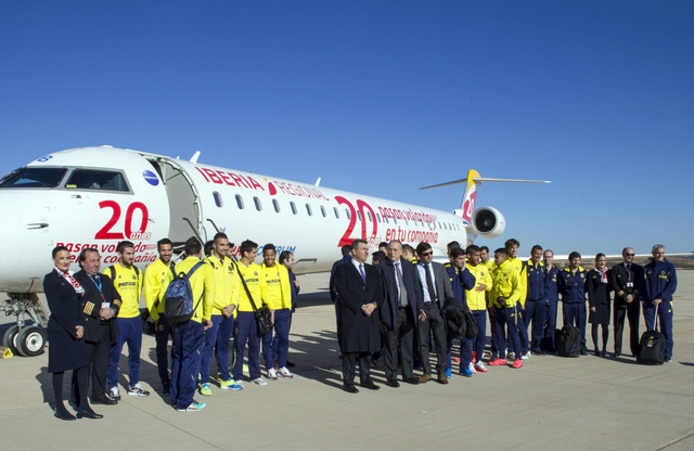 First commercial flight at Castellón airport