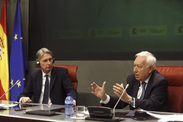 Spain and UK seek progress in the conflict over Gibraltar