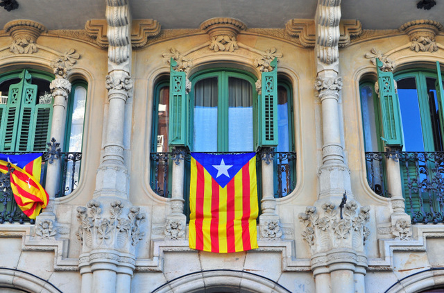 Controversy continues over flying of nationalist flags in Catalunya