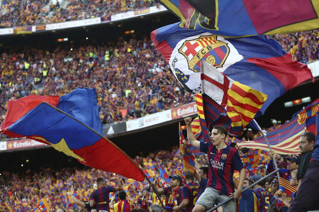 Nationalist sentiment at football final as Barcelona and Bilbao fans disrupt national anthem