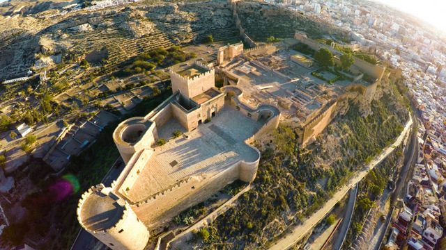 Repair work completed at the Alcazaba of Almería