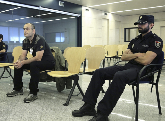 Basque politician stands trial in Madrid on charges of exalting terrorism