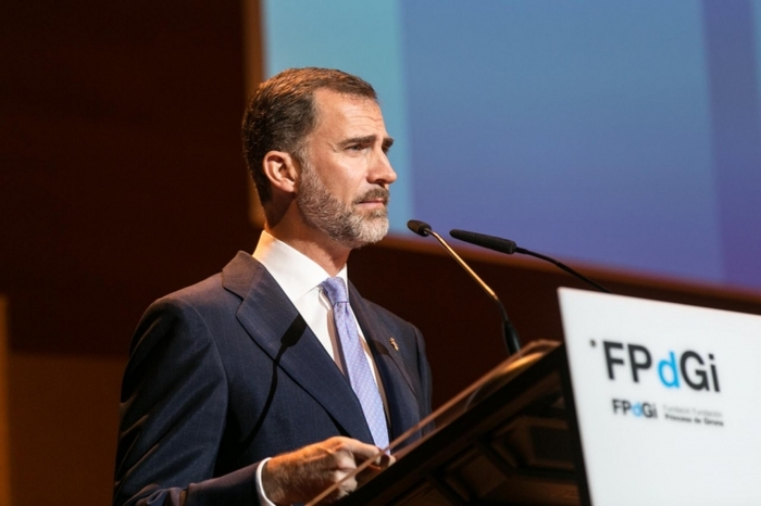 The King of Spain advocates unity between Spain and Catalunya