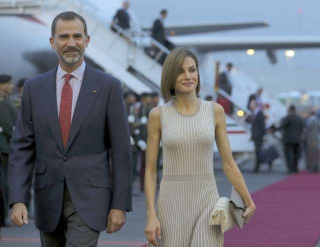 King and Queen of Spain on official visit to Mexico