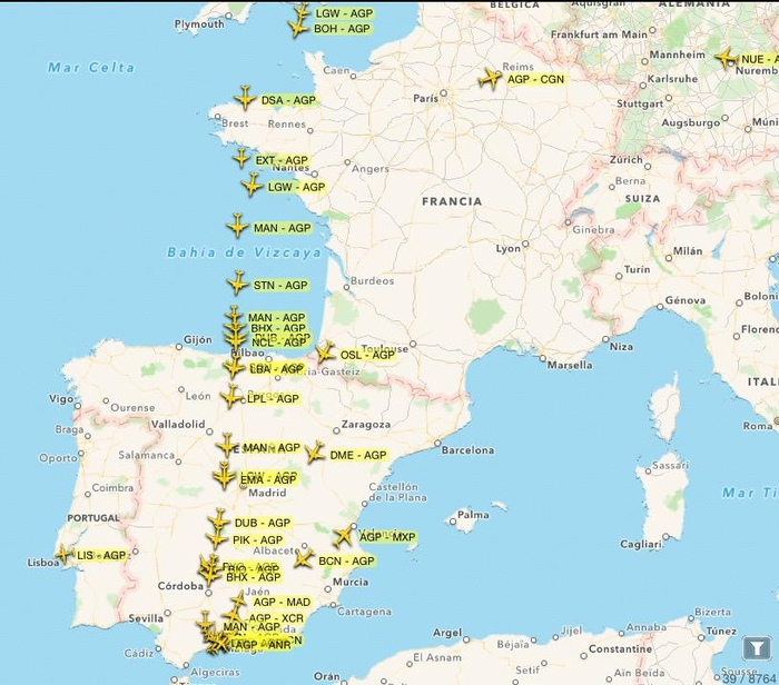 How to check flight status of flights to and from Spain