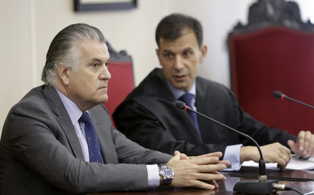 Madrid court rejects Bárcenas demand to be reinstated as PP treasurer