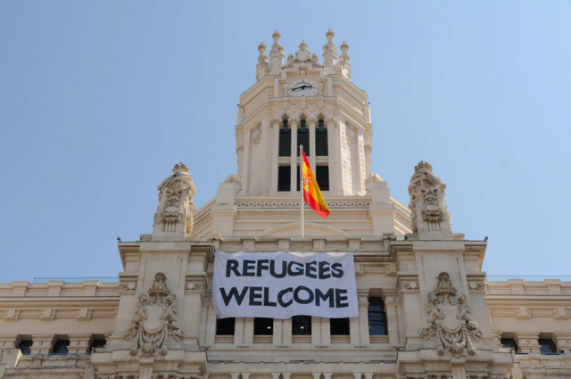 Madrid Town Hall proclaims support for refugees