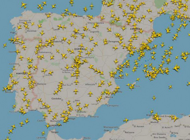 Record month for Spanish airports during August