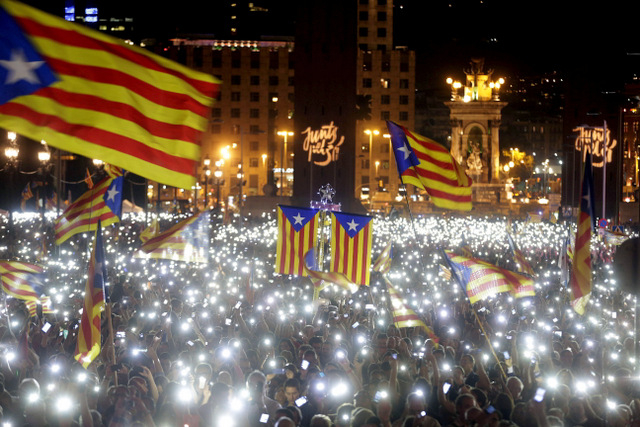 Catalunya goes to the polls with independence vote expected to win the day