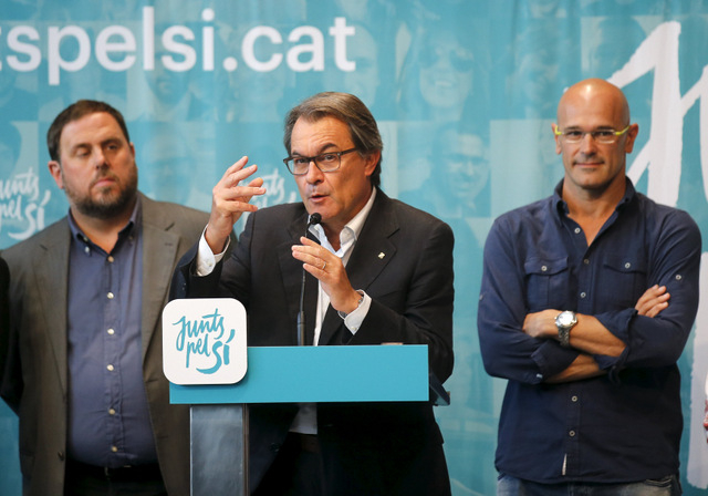 Artur Mas indicted by Supreme Court just 2 days after Catalan elections