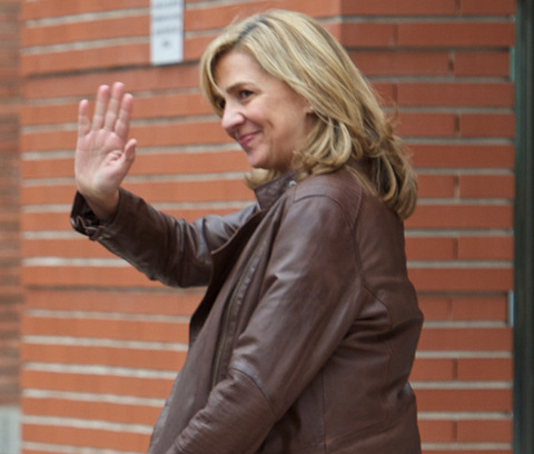Princess Cristina to stand trial in Mallorca on 11th January