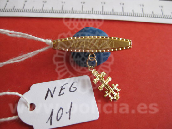 Recovering stolen jewellery and other items in Spain