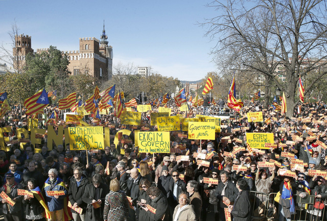 Crucial weekend ahead for the Catalan separatist movement