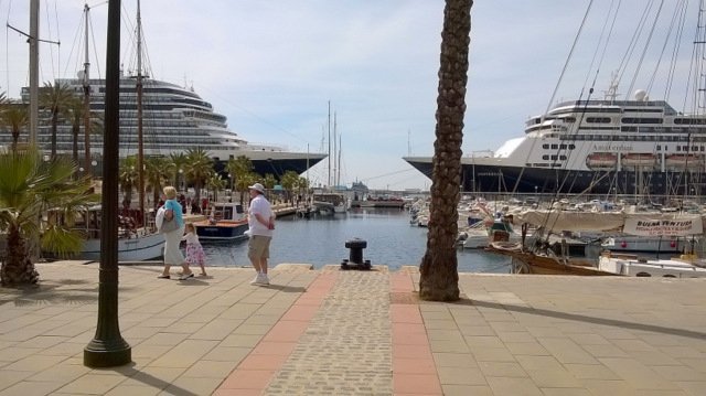 Spanish cruise passenger visitor numbers up by 10 per cent