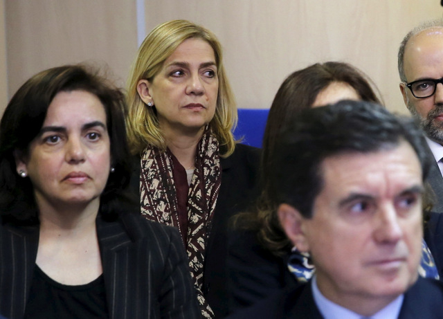Barcelona Town Hall withdraws honour from Princess Cristina