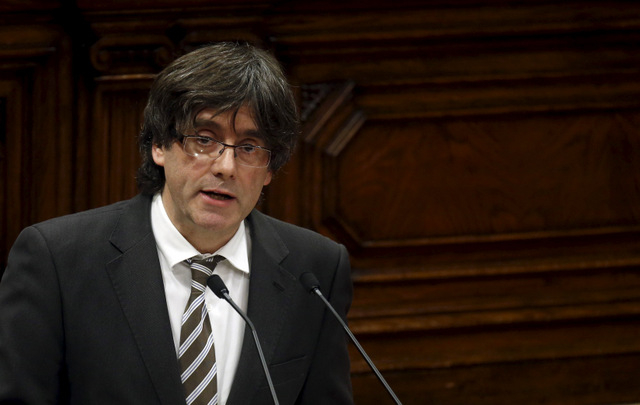 Catalan president warns that independence plans are serious