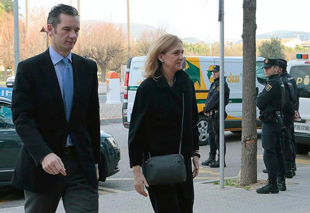 Court appearance of Princess Cristina postponed