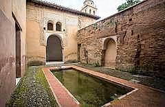 Casa Nazari open during March at the Alhambra palace in Granada