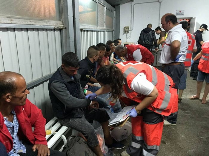 135 immigrants intercepted and rescued off the coast of Andalucia