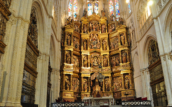 Drone technology provides virtual visits to Burgos Cathedral