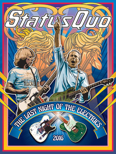 Status Quo offer three dates in Spain for August 2016