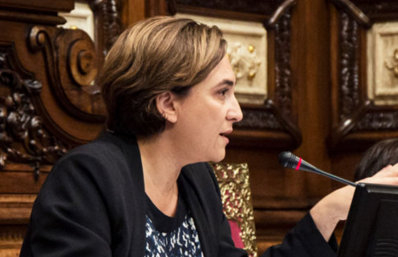 Barcelona Town Hall rejects the Spanish Constitution